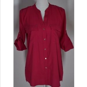 Calvin Klein women's blouse top shirt size medium